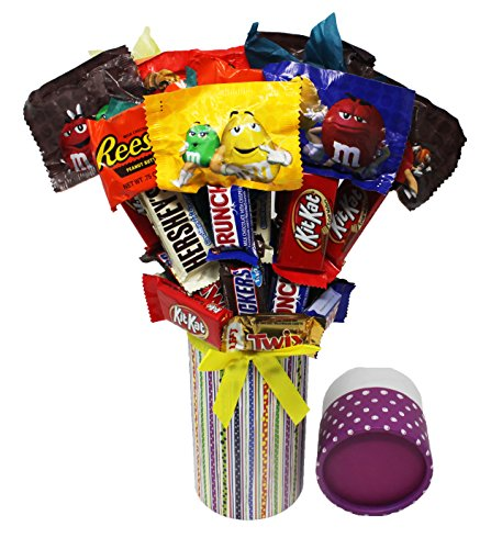 Candy Bouquet Fun Sized! Mini Candy Variety Assortment - Con