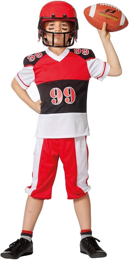 Horror-Shop Disfraces para Niños Jugadores De Fútbol 128: Amazon.es: Juguetes y juegos