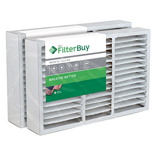 Rodgers 8 Replacement White Filter - FilterBuy 20x26x5 White Rodgers, Electro-Air Replacement AC Furnace Air Filters - AFB Silver MERV 8 - Pack of 2 Filters. Designed to replace F825-0338 / F8110319.