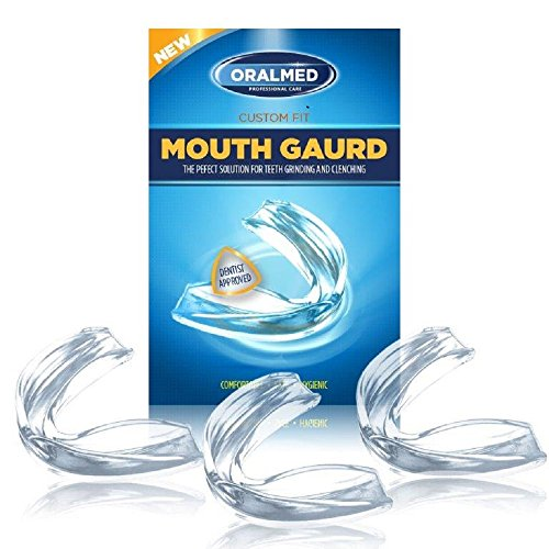TMJ Mouth Guard Night Time - Professional Dental Guard for Teeth Grinding and Clenching - Eliminates Bruxism - Dentist Approved - Custom Fit - Includes Antibacterial Case