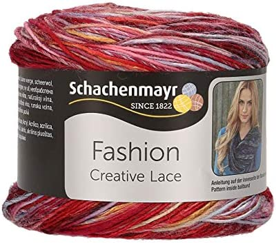 Schachenmayr Hilos para Tejer A Mano Creative Lace, 80g Pastell ...