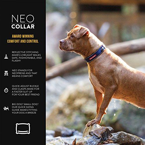 EzyDog Neo Dog Collar, Small, Green Camo