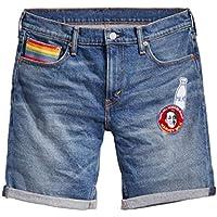Bermuda Jeans Levis Masculino 511 Slim Cut Off Pride Escura a464aba6d4e4e