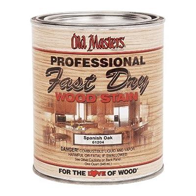 Old Masters 161673 60804 Fast Dry Wood Stain, Dark Mahogany, 1 quart