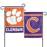 "Clemson Tigers 12""x18"" Garden Flag -"