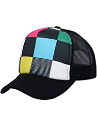 Unisex Sublimated Print Baseball Trucker Caps Mesh Hat Adjustable Snapback Hat