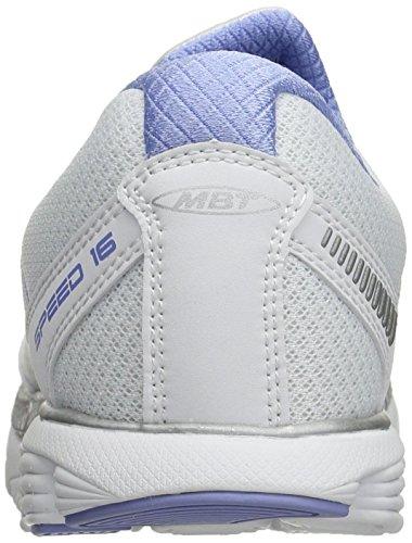 16 White MBT Slip Silver Speed Women's White Walking Purple Light Shoe on 4 Various Colours EPHPqtxnwr