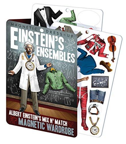 Einstein's Ensembles - Albert Einstein Magnetic Dress Up Doll Play Set Doll Fridge Magnet