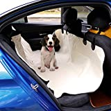 Peach Tree Pet Car Seat Covers, Non-Slip Hammock Dog Car Seat Protector for Cars, Trucks, and Suv – Beige Review