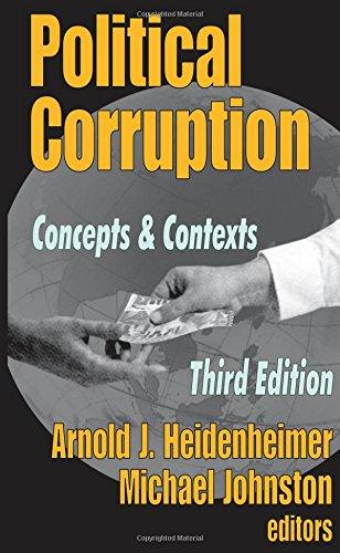 Political Corruption: Concepts and Contexts