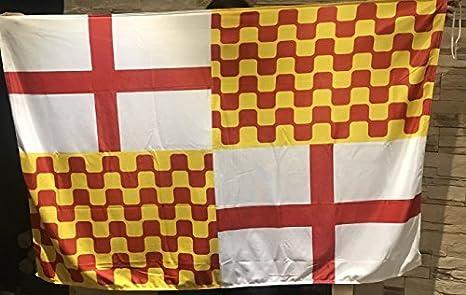 Bandera Tabarnia, banderas de tabarnia exterior, Cataluña: Amazon.es: Jardín