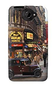 S0181 Old London Vintage Case Cover for HTC ONE X