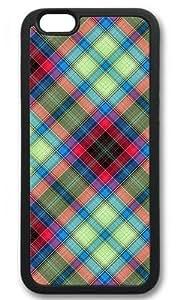 AQ Tartan Customized Black iphone 6 Case New Diy Design Your Great Choice High-end Custom