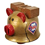 MLB Philadelphia Phillies Resin Large Thematic Piggy Bank