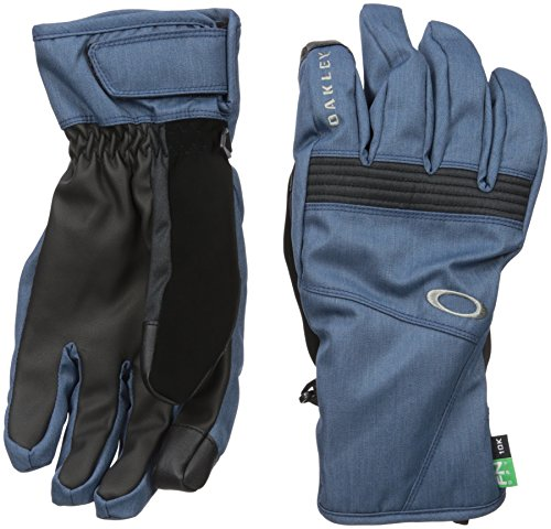 Oakley Men's Roundhouse Short Gloves, Medium, Blue - Shade Oakley
