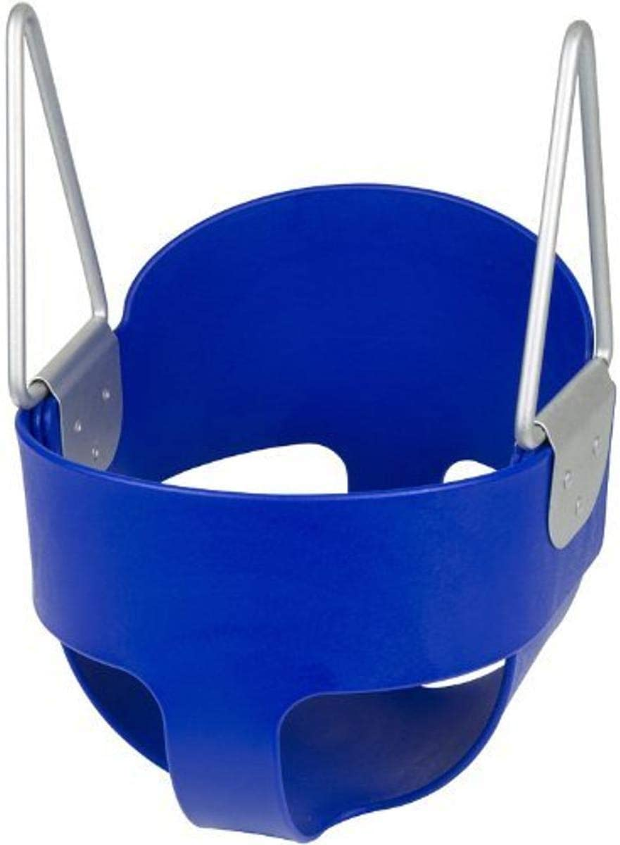 Swing Set Stuff Highback Full Bucket with SSS Logo Sticker -Seat Only Blue