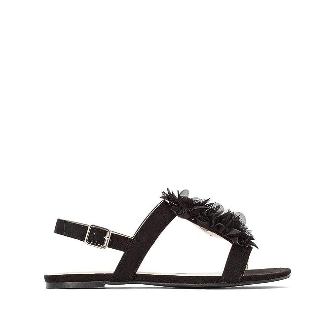 a448097e9dd Amazon.com: La Redoute Collections Womens Flat Sandals: Clothing