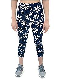 Women's Mid Rise 3/4 Capri Stabilyx Compression Legging...