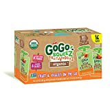 Cheap GoGo Squeez Organic Fruit & Veggiez On the Go Pouch, 3.2 ounce (Pack of 16)