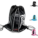 FAIRTEX BAG6 SACH BAG BOXING GLOVES CARRY CADDY CONTAINER MUAY THAI KICK BOXING MMA (Black)