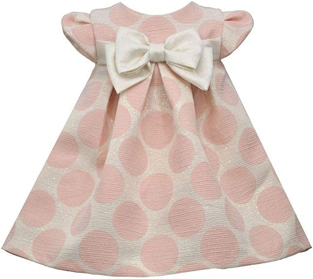 Bonnie Jean Baby Dress - Pink Dot Special Occasion Dress: Clothing