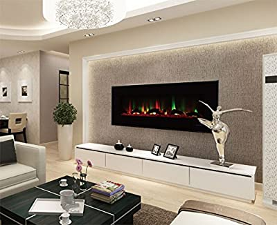 Touchstone ValueLine 10-Color Recessed Wall Electric Fireplace