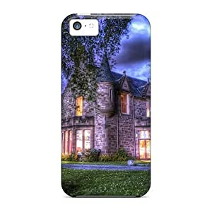 LJF phone case For Iphone Case, High Quality Bunchrew Scotl For Iphone 5c Cover Cases