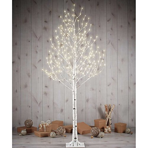 Outdoor Lighted Metal Trees in US - 5