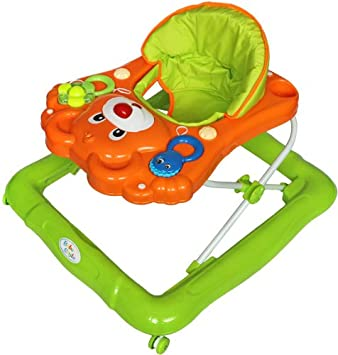 Bebe Style Deluxe Teddy Baby Walker (Orange/ Green): Amazon.co.uk ...