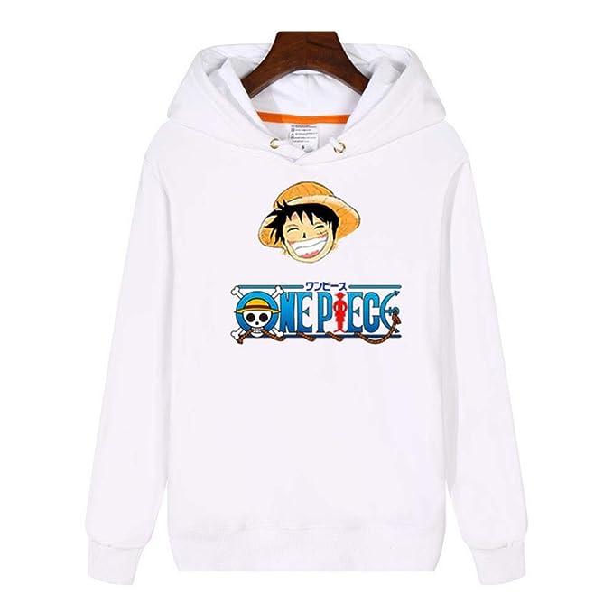 One Piece Sudadera con Capucha Unisex diseño de Anime, Sudaderas Grueso: Amazon.es: Ropa y accesorios