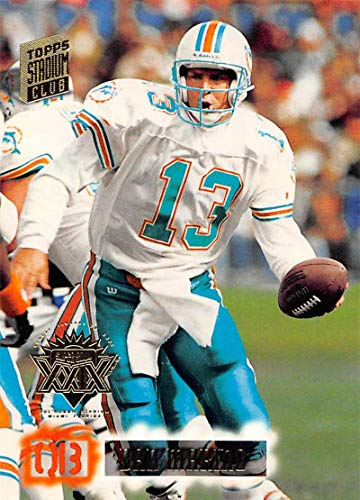 - 1994 Stadium Club Super Teams Super Bowl Football #200 Dan Marino Miami Dolphins Official NFL Trading Card From Topps