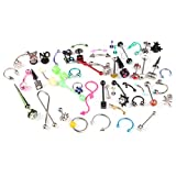 BodyJ4You Body Piercing Kit 50 Pieces for Belly Review and Comparison