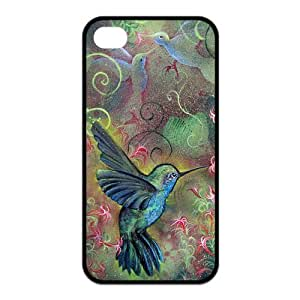 iphone 5 5s Case, Holly Hummingbird Hard Snap-on Case for iphone 5 5s Designed by HnW Accessories