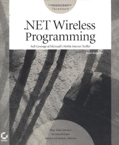 .Net Wireless Programming (Transcend Technique Programming Series): 1st (First) Edition by Wiley, John & Sons, Incorporated