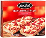 Stouffer's French Bread Pizza, Pepperoni, 11.25-Ounce, 12-Count Boxes