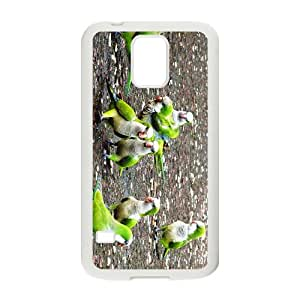 The Parrots Hight Quality Plastic Case for Samsung Galaxy S5