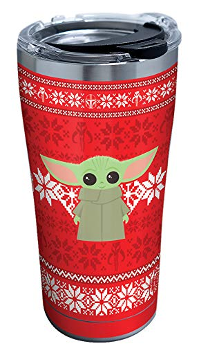 Tervis Star Wars-The Mandalorian Christmas Triple Walled Insulated Tumbler, Stainless Steel