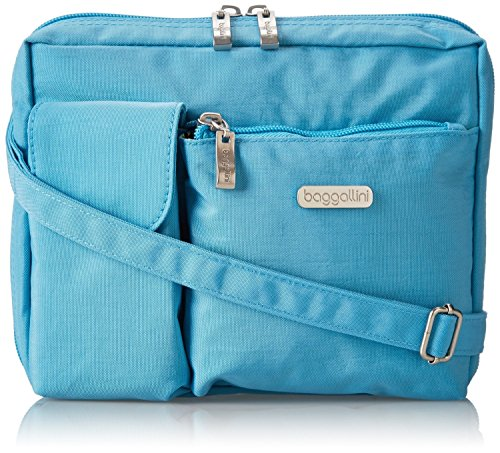 (Baggallini wallet bagg turquoise)