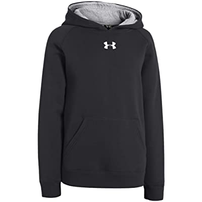 Under Armour Men's UA Every Team Fleece Hoodie - Small - Black/ White: Clothing