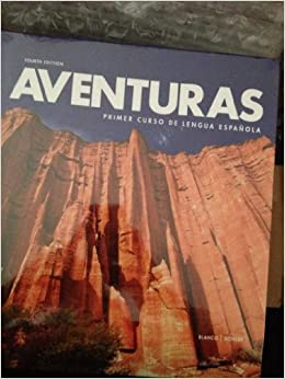 Aventuras 4th edition vista higher learning amazon books fandeluxe Choice Image