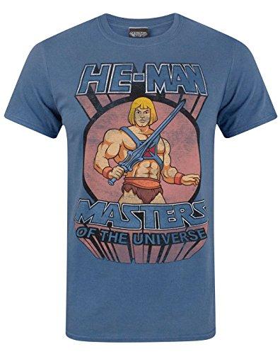 He-Man Masters Of The Universe Men's T-Shirt - Masters Fake 12 Retro