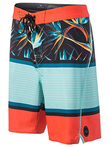 """2017 Rip Curl Mirage Aggrohaven 20"""" Boardshorts RED CBOHL1 Waist Size - 33"""