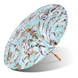 Lily-Lark Scroll UV protection sun parasol, rated UPF 50+