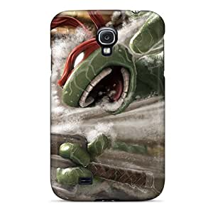 Scratch Resistant Cell-phone Hard Covers For Samsung Galaxy S4 (jld14621YqdZ) Provide Private Custom Fashion Ninja Turtles Pictures