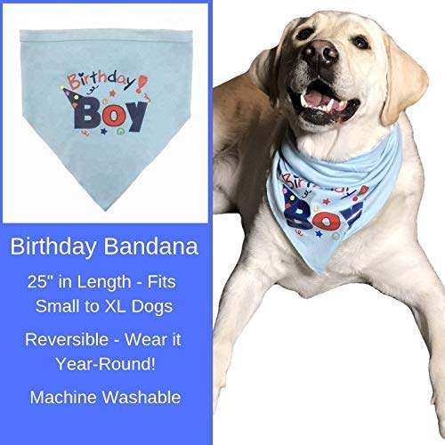 Dog Birthday Cake Mix and Frosting With Reusable Silicone Bone Cakes Baking Pan | 100% Natural Puppy Cake Mix | 6 Paw Print Balloons, Blue Happy Birthday Dog Bandana and 3 Toy Squeaky Birthday Balls by Giant Dog Paws (Image #4)