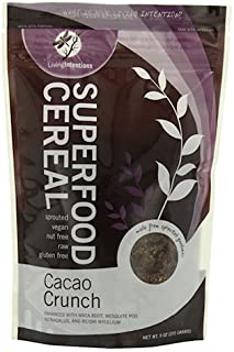 product image for Living Intentions Superfood Cereal, Cacao Crunch, 9 Ounce