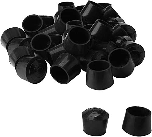 uxcell 40pcs Chair Leg Tips Caps 14mm 9//16 Inch Anti Slip Rubber Furniture Table Feet Cover Floor Protector Reduce Noise Prevent Scratches