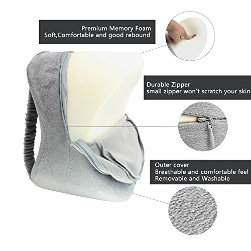 Aocome Knee Pillow For Side Sleepers Ergonomically
