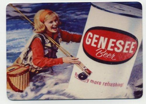 Genesee Beer counter display sign - Fly (Genesee Beer)