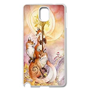 JenneySt Phone CaseFunny Fox For Samsung Galaxy NOTE3 Case Cover -CASE-10